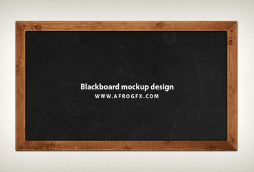 Blackboard Mockup design